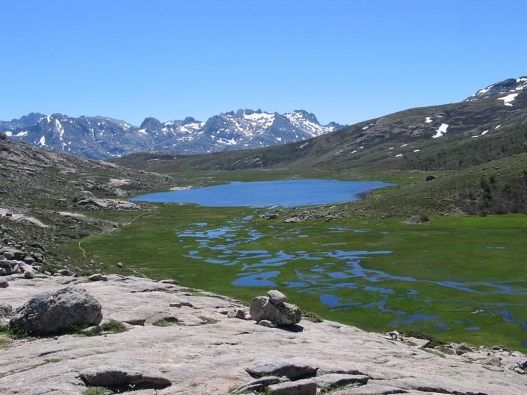 Le Lac de Ninu et le GR 20
